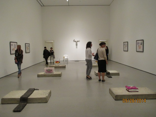 """Installation shot from Robert Gober's """"A Heart Is Not a Metaphor"""" at MoMA. (Photo by Alanna Martinez)"""