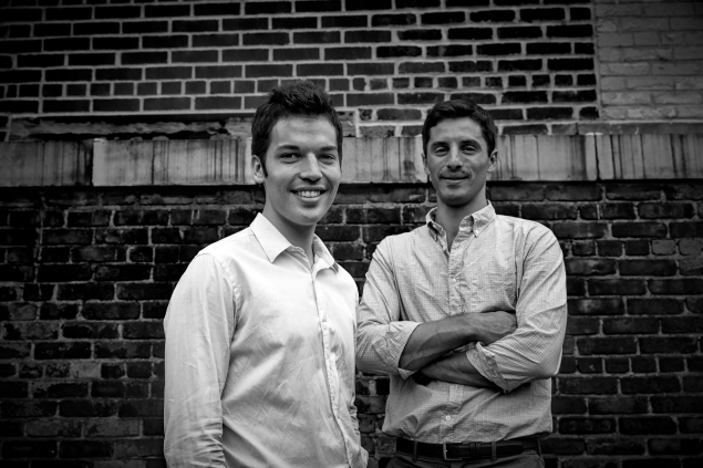 Mic founders Jake Horowitz (left) and Chris Altchek (right).