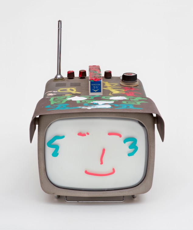 Nam June Paik, Transistor Television, 2005. (Photo by Ben Blackwell)