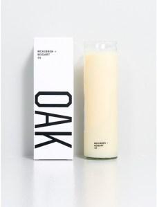 The McKibben Bogart candle from OAK.