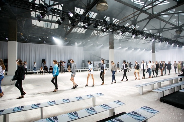 31. Phillip Lim shows at Skylight Moynihan Station — the same venue pictured at the top of this story. (Photo via Skylight Group)