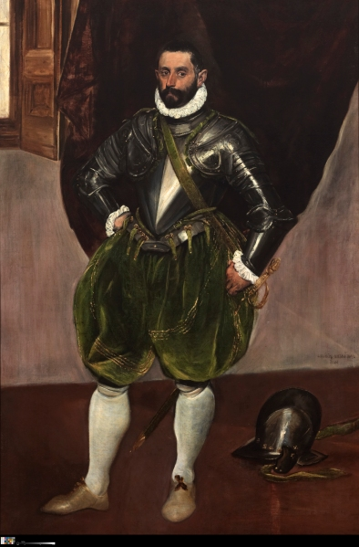 Vincenzo Anastagi (1575) by El Greco. (Images courtesy Michael Bodycomb/ The Frick Collection, New York)