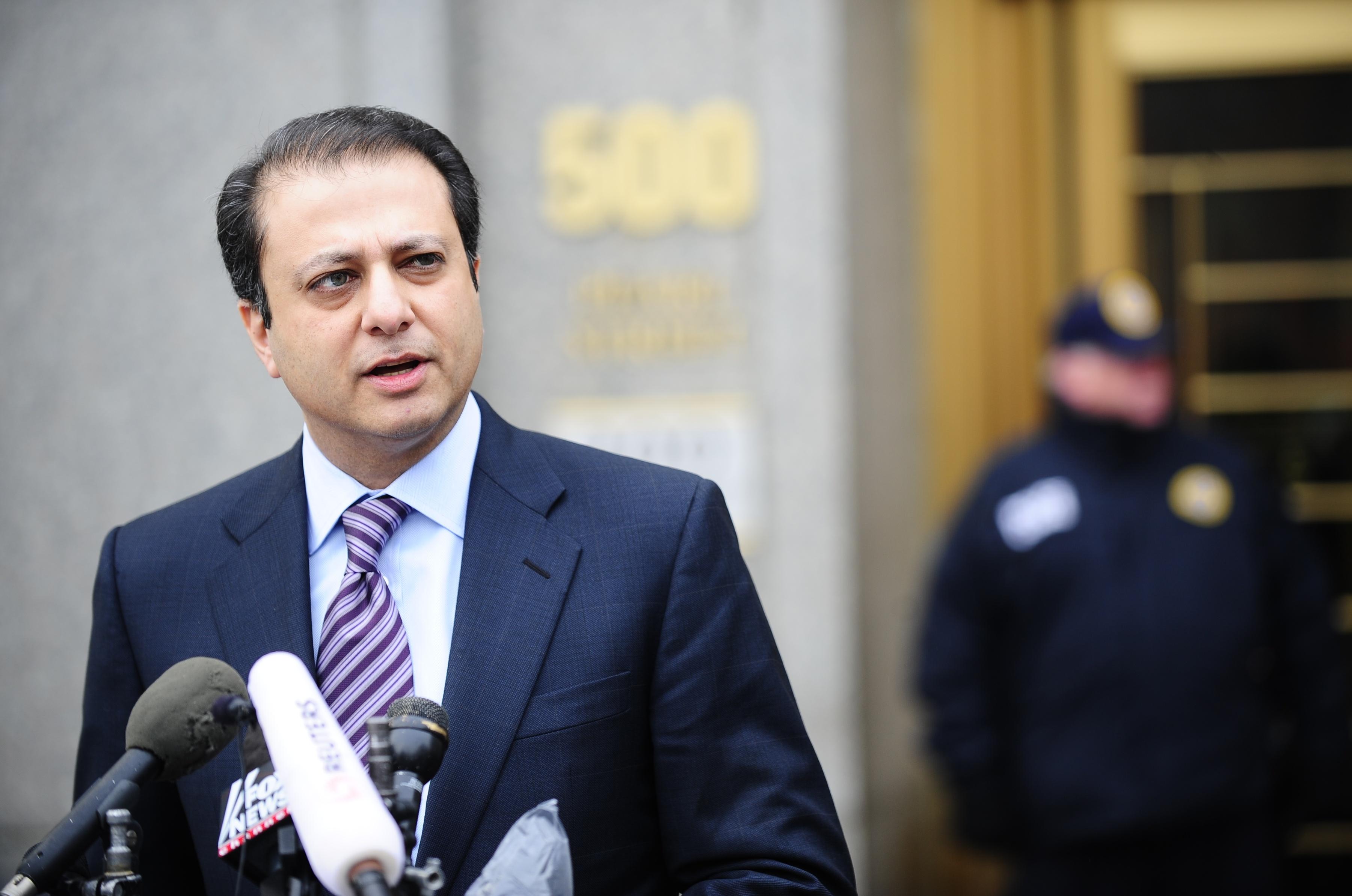 U.S. Attorney Preet Bharara. (Getty Images)