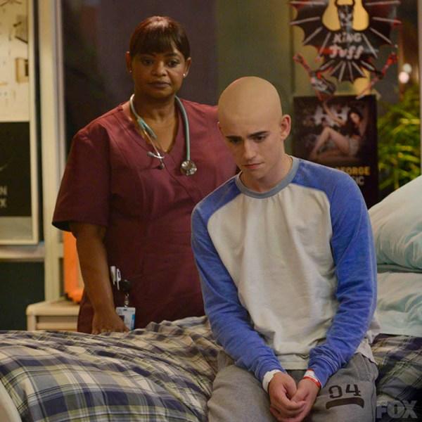 Nurse Jackson helps Leo through a difficult time.
