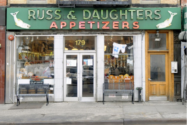 Russ & Daughters Storefront. (Photo courtesy The Jewish Museum)