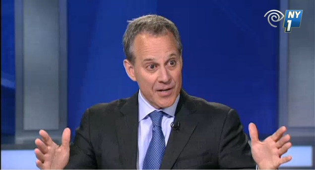Attorney General Eric Schneiderman (Screengrab: NY1).