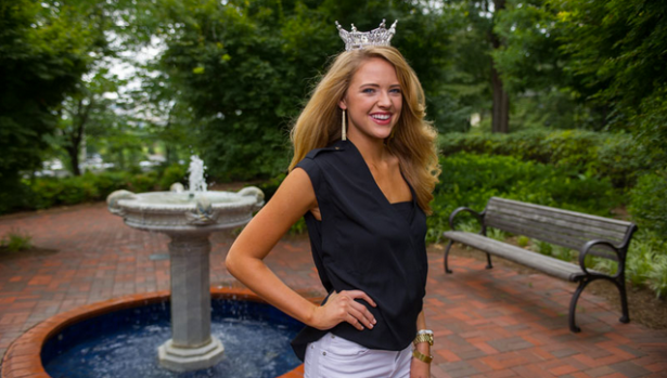Maggie Bridges, a business administration major at Georgia Tech, is Georgia's contender for this years Miss America. (Photo via Georgia Tech)