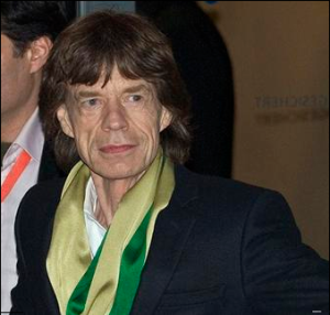 Mick Jagger, or prehistoric pig? You be the judge. (Wikimedia Commons)