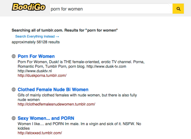 The search turned up 56,128 results! (Screengrab: Boodigo)