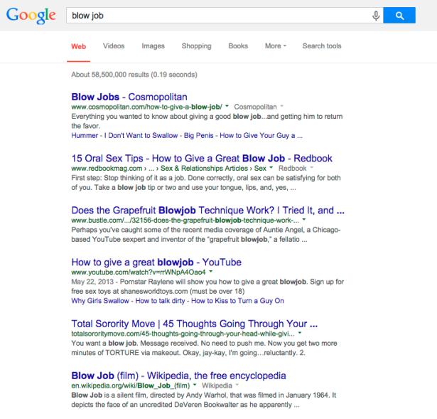 Fair. (Screengrab: Google)