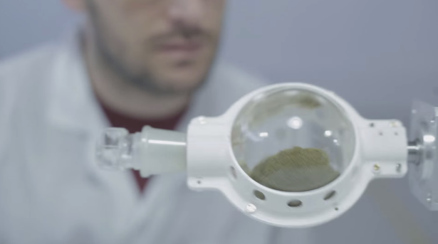The Syqe Inhaler is takes all of the unpredictability out of medical marijuana. Or the spontaneity, depending on how you see it. (Photo via Syqe Medical)
