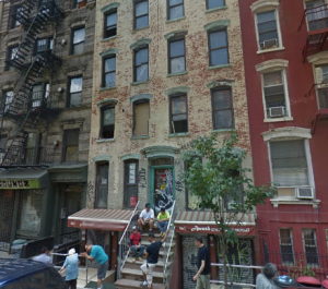 338 East 6th Street has been under renovation since May 2013. (Google Maps)