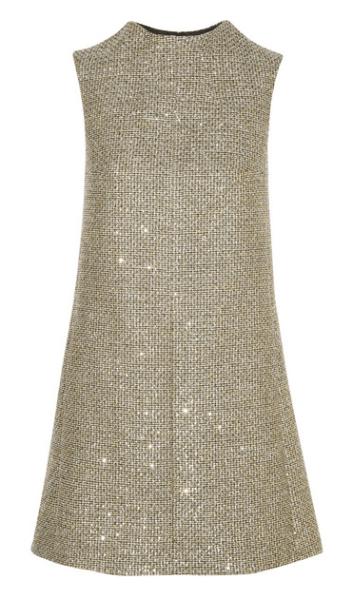 Dress by Saint Laurent. (Photo via Net-a-Porter)