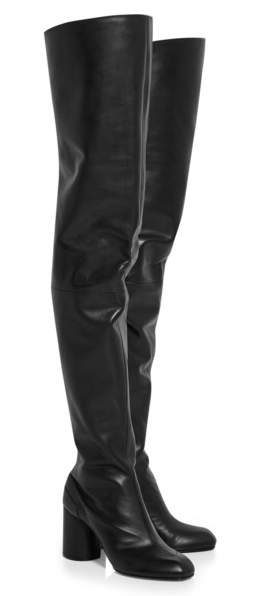 Possibly the best gogo boots in history by Maison Martin Margiela. (Screengrab via Net-a-Porter)