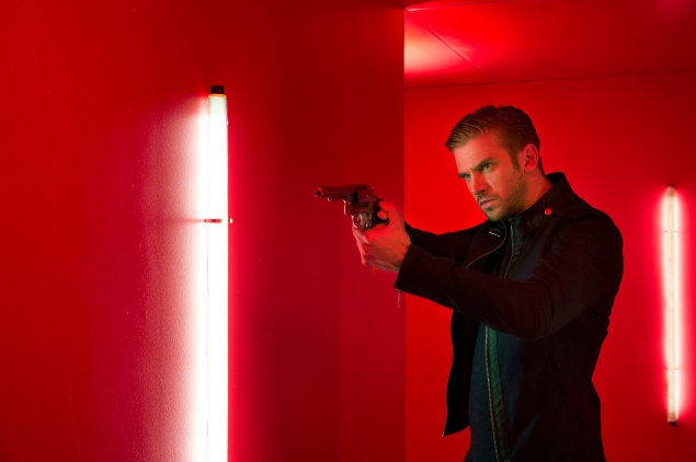 Dan Stevens stars in the action thriller The Guest.