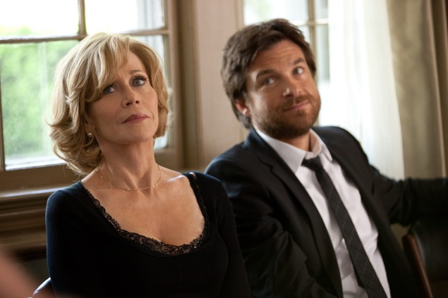 Jane Fonda and Jason Bateman in This Is Where I Leave You.