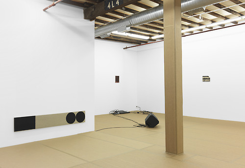 """Installation view of """"Bedroom Music"""""""