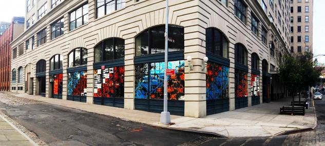 Dumbo Arts Festival Lounge, Main & Plymouth Streets, Brooklyn