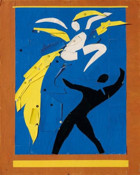 Two Dancers (1937-1938) by Henri Matisse. (Musée national d'art moderne/Centre de création industrielle, Centre Georges Pompidou, Paris)