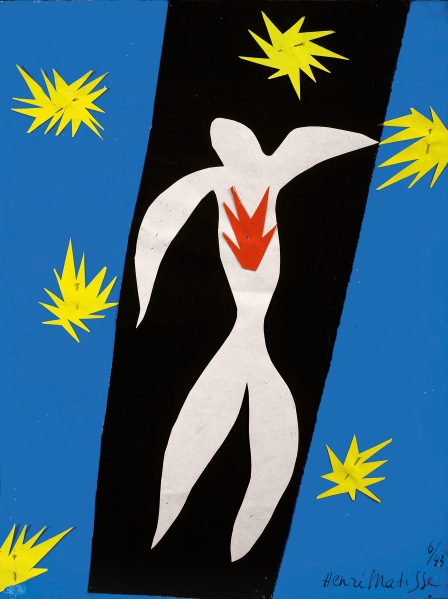 The Fall of Icarus (1943) by Henri Matisse. (Succession H. Matisse / Artists Rights Society (ARS), New York)