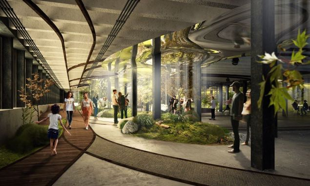 The creators' vision for what the Lowline will look like. How plausible is this? (Facebook)
