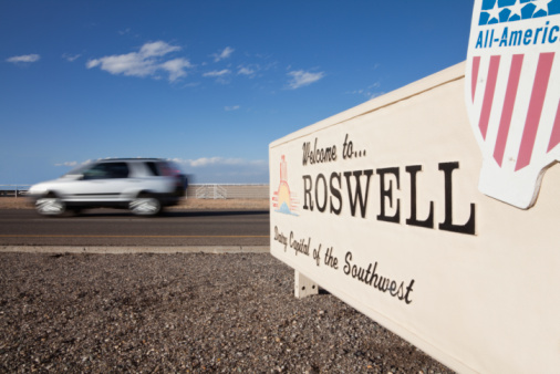 Cities like Roswell, New Mexico (with a population of 48,611 as of 2013) can submit proposals for public art projects. (Courtesy Getty Images)