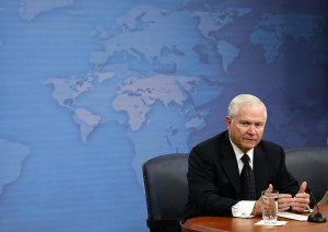 Bob Gates in 2010. (Photo by Alex Wong/Getty Images)