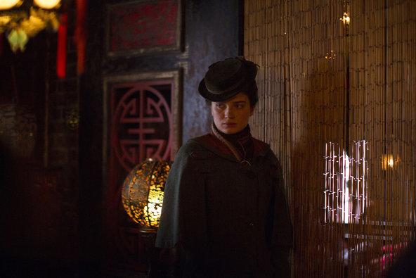 Eve Hewson on The Knick. (Cinemax)