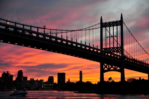 Construction of temporary ramps for the Robert F. Kennedy Bridge will include the costly removal of 16 trees (MTA/flickr).