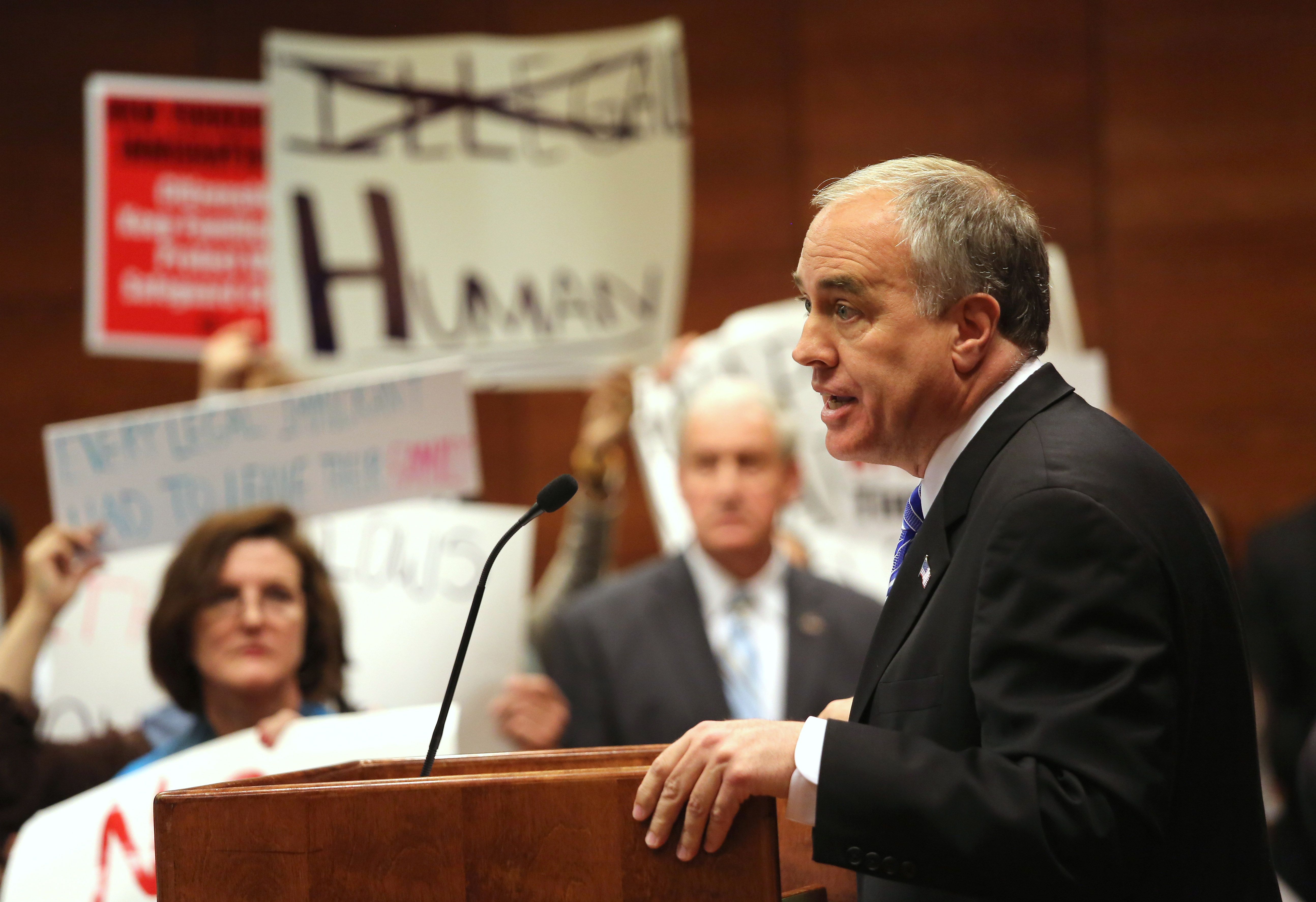 State Comptroller Thomas DiNapoli. (Photo: John Moore/Getty Images)