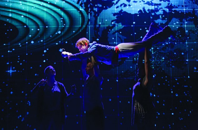 Alex Sharp's powerful performance in Curious Incident could carry him to a Tony win.