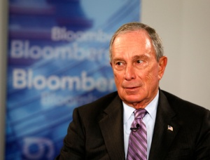 New .nyc domain names relating to Michael Bloomberg are quickly being snatched up by his lawyers (Photo by Bloomberg, courtesy Getty Images) .