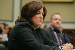 Secret Service Director Julia Pierson testifies to the House Oversight and Government Reform Committee. (Chip Somodevilla/Getty Images)
