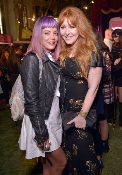 Lily Allen with Charlotte Tilbury (Photo via Getty)