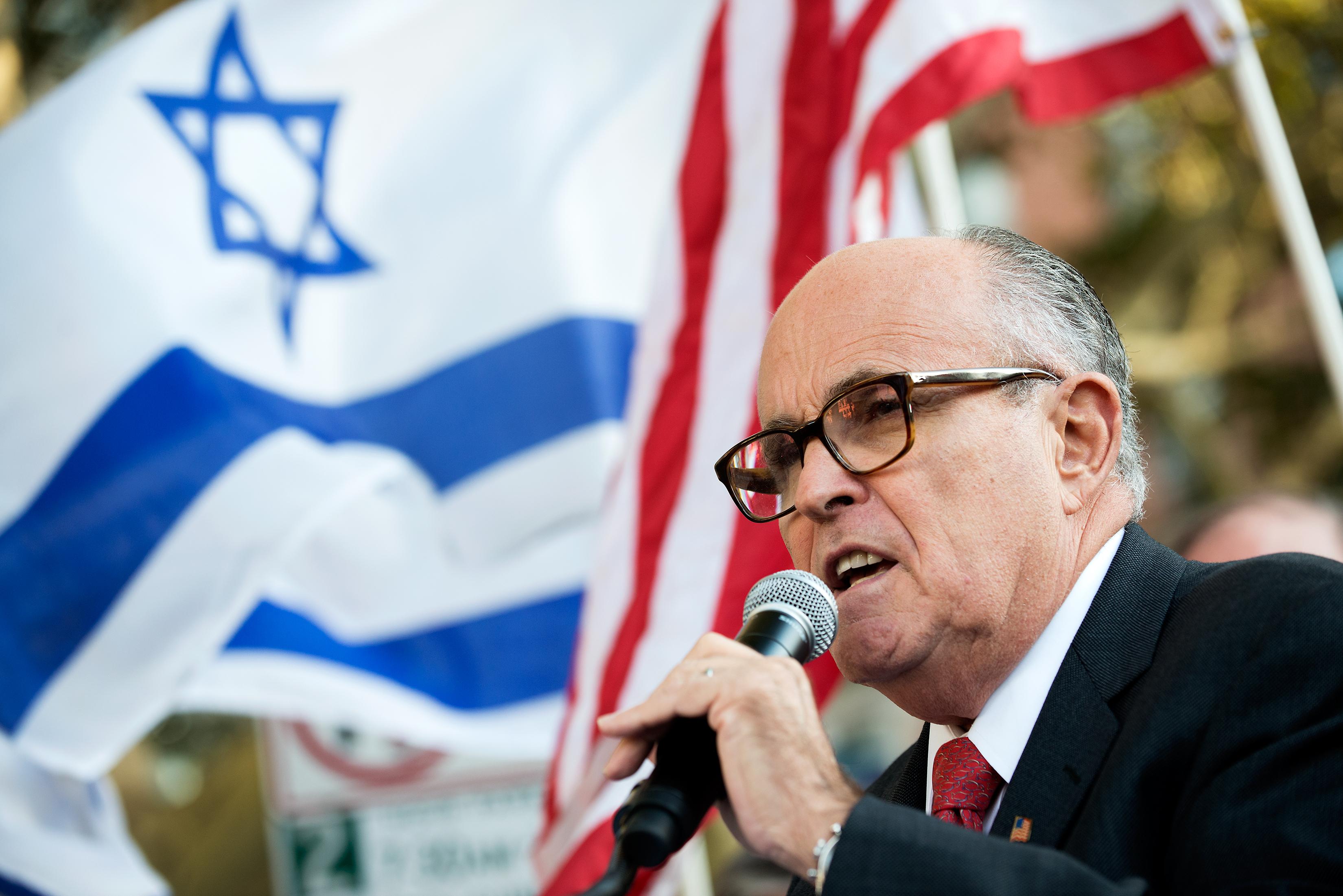 Former Mayor Rudolph Giuliani. (Photo: Bryan Thomas/Getty Images)