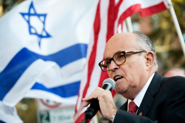 Former Mayor Rudolph Giuliani. (Photo: Bryan Thomas/Getty Images)
