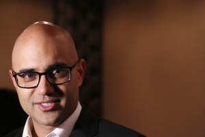 Playwright Ayad Akhtar broaches tough topics in his Broadway show, 'Disgraced.'  (Photo: Walter McBride/Getty)