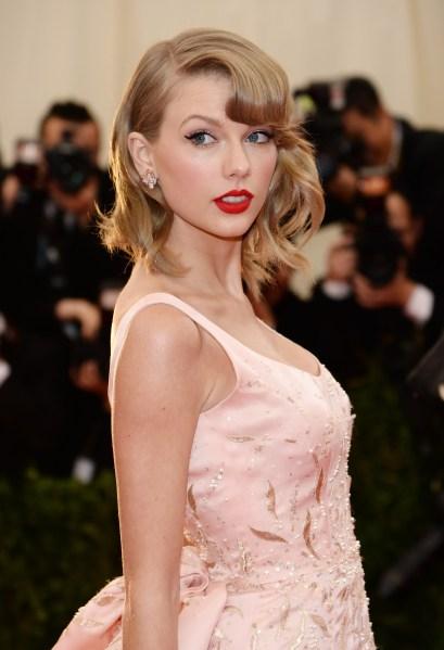 Taylor Swift, Met Ball, 2014