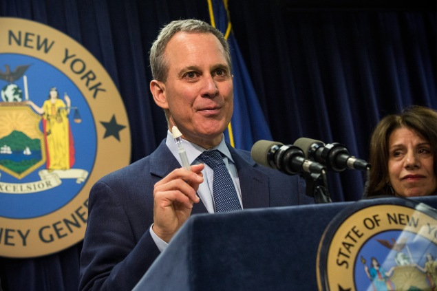 New York State Attorney General Eric Schneiderman (Photo: Andrew Burton/Getty Images)