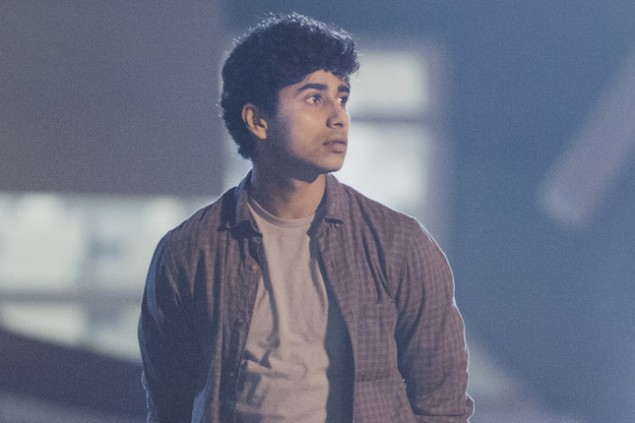 Suraj Sharma as Ayaan in Homeland. (Showtime)