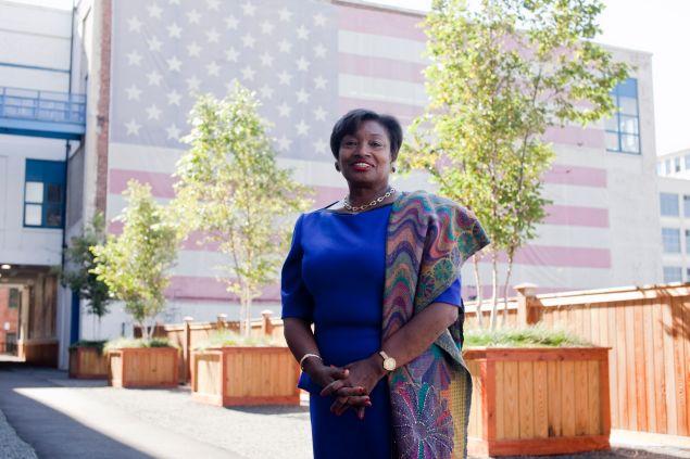 Senate Democratic Leader Andrea Stewart-Cousins. (Photo: Aaron Adler for Observer)