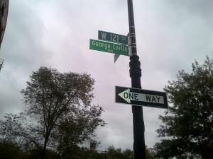 George Carlin now has is own street in Morningside Heights. (Twitter)