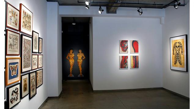 "Installation image for ""Body Electric"". (Courtesy Ricco/Maresca Gallery)"