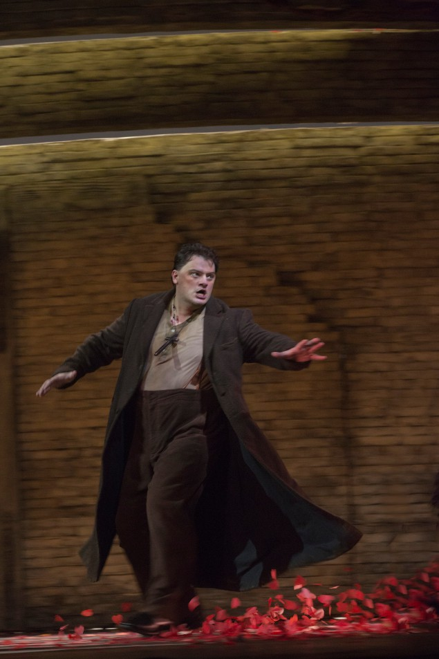 Aleksandrs Antonenko. (Photo by Ken Howard and the Metropolitan Opera)