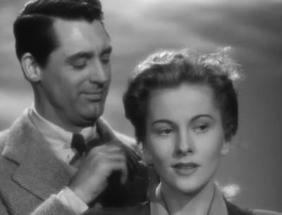 Cary Grant and Joan Fontaine in Suspicion, 1941. (Courtesy Turner Classic Movies)