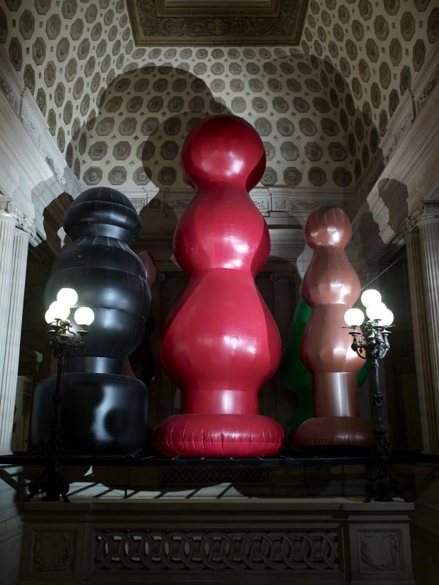 Chocolate Factory, Paul McCarthy at Monnaie de Paris (Photo by Marc Domage, courtesy de l'artiste et Galerie Hauser & Wirth)
