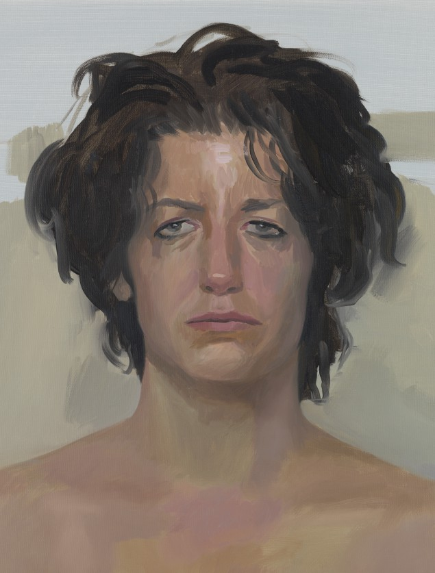 Brad Jones, Detail, Jennifer, 2014. (Courtesy Sargent's Daughters)