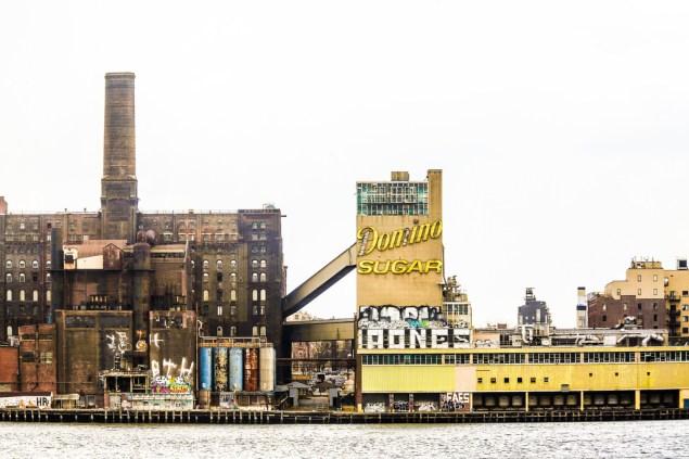 The Domino Sugar factory. (Thomas Hawk/flickr.)