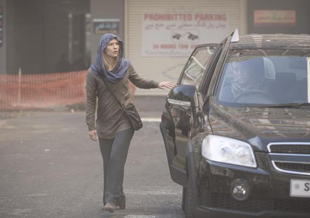 Carrie Matheson in Homeland. (Showtime)