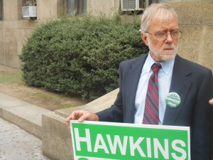 Howie Hawkins. (Photo: Ross Barkan)